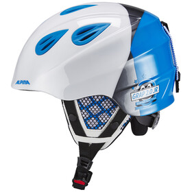 Alpina Grap 2.0 Helmet Junior white-silver-blue